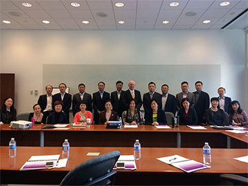 Employees of Shanghai Municipal Bureau of Local Taxation at Supports and Managements in Tax Policies and Incentives for Science and Technology Innovation Centers