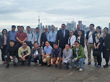 Employees of Shanghai Jiao Yun Group at The Skills of Modern Logistics Management and Service Innovation