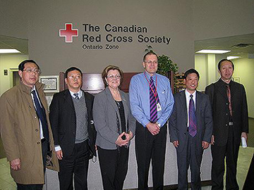 "Organizations with exchange visits in Canada for Anhui Provincial Office of Civil Defense ""Civil Defense and Emergency Rescue"""