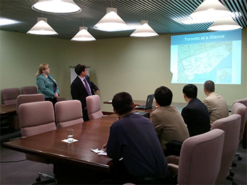 "Organizations with exchange visits in Canada for Office of the South-to-North Water Diversion Project Commission of the State Council ""Engineering Design Technology Management and Engineering Construction"
